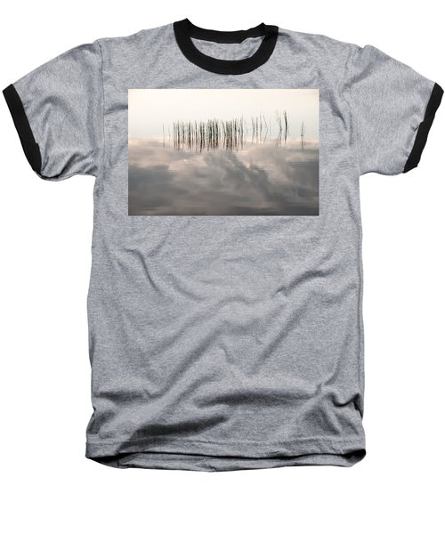 Serenity Dwells Here Where Tranquil Water Flow Cloaked  In Hues Of Love Baseball T-Shirt by Jenny Rainbow