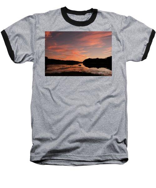 Serenity Baseball T-Shirt by Nicki McManus