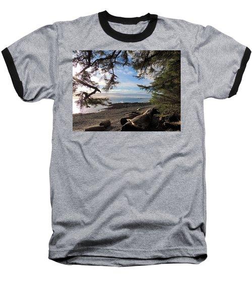 Serenity Surroundings  Baseball T-Shirt by Karen Horn