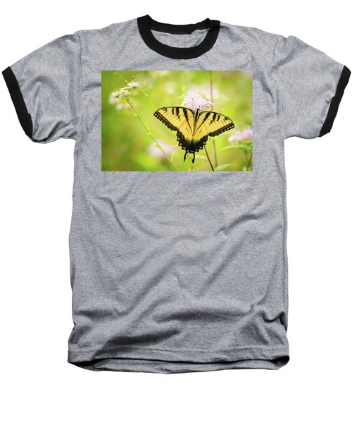 Series Of Yellow Swallowtail #6 Of 6 Baseball T-Shirt