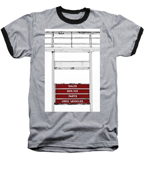 Baseball T-Shirt featuring the photograph Services Rendered by Stephen Mitchell