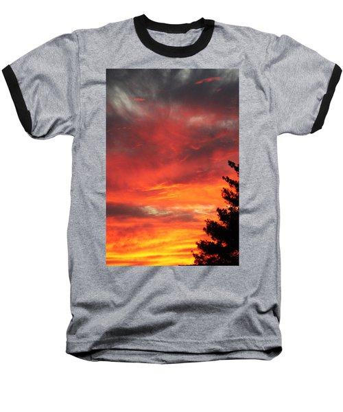 Desert Sunburst Baseball T-Shirt
