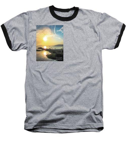 Sestri Levante Baia Delle Favole Baseball T-Shirt