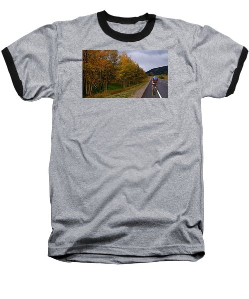 Baseball T-Shirt featuring the photograph Set Your Own Pace by Laura Ragland
