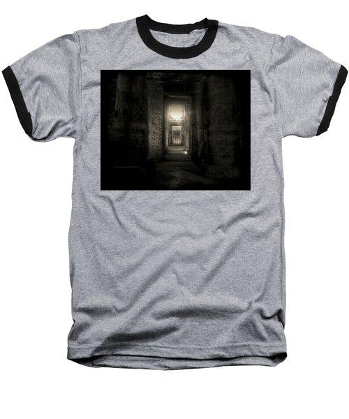 Baseball T-Shirt featuring the photograph Seti I Temple Abydos by Nigel Fletcher-Jones