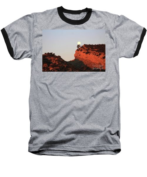 Setting Full Moon Baseball T-Shirt
