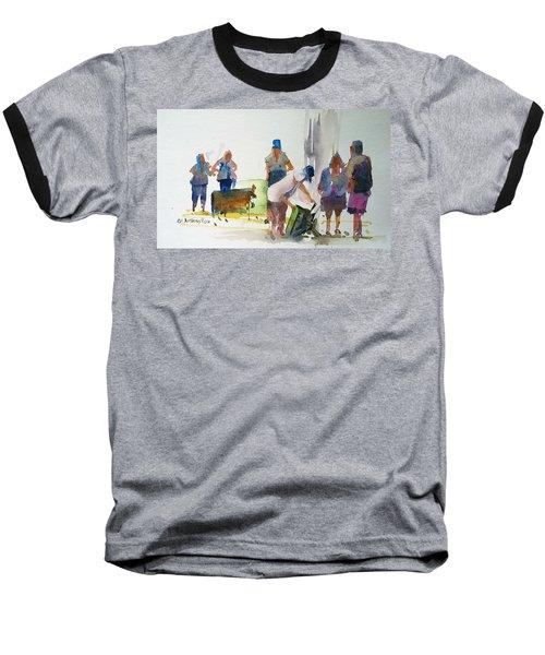 Setting Up Baseball T-Shirt