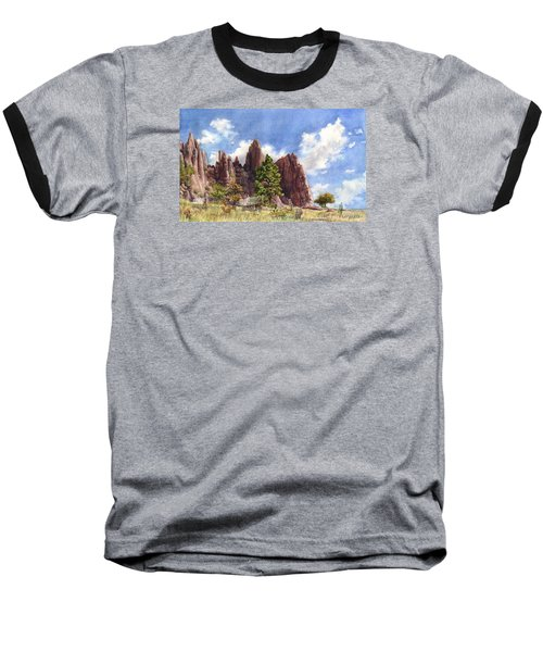 Settler's Park, Boulder, Colorado Baseball T-Shirt