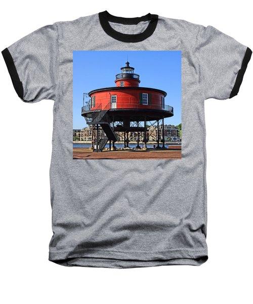 Seven Foot Knoll Baseball T-Shirt