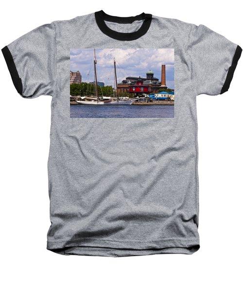 Seven Foot Knoll Lighthouse - Baltimore Baseball T-Shirt