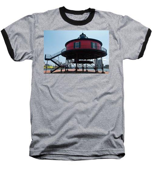 Seven-foot Knoll Lighthouse Baseball T-Shirt