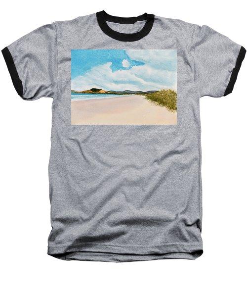 Seven Mile Beach On A Calm, Sunny Day Baseball T-Shirt