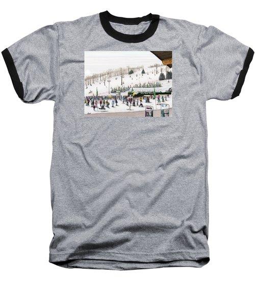 Seven Springs Stowe Slope Baseball T-Shirt