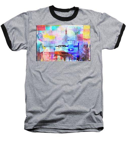 Seventh Street Baseball T-Shirt by Susan Stone