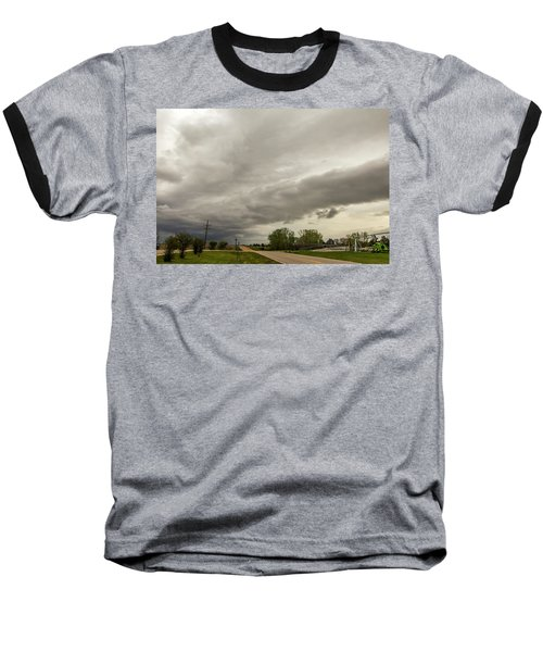 Severe Nebraska Weather 013 Baseball T-Shirt