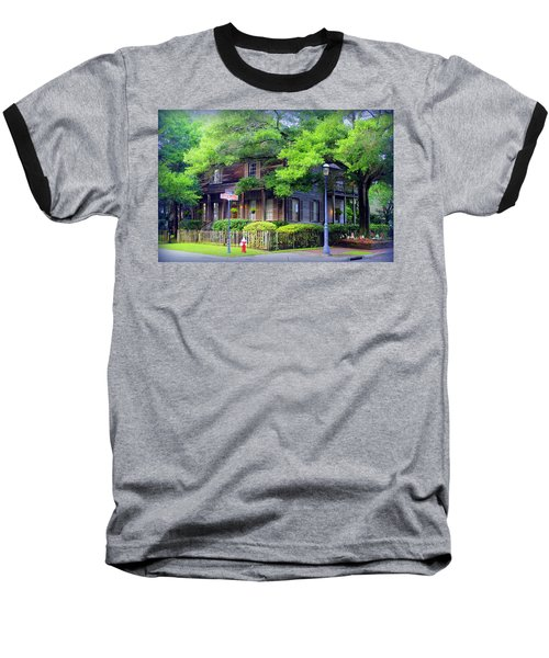 Seville Wooden House Baseball T-Shirt