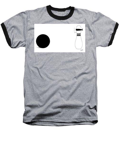 Bowling Execution Baseball T-Shirt