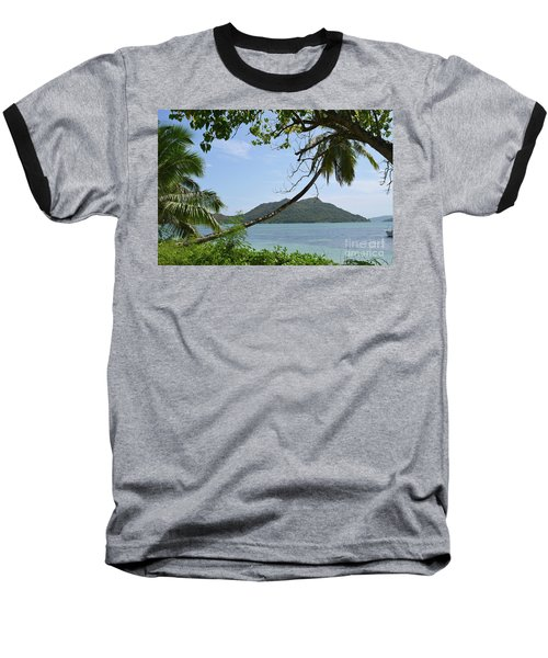 Seychelles Islands 2 Baseball T-Shirt by Eva Kaufman