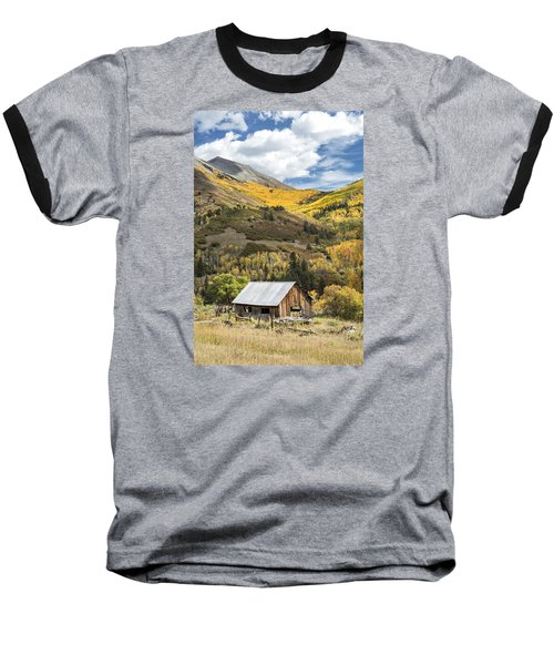 Shack With Relics Baseball T-Shirt
