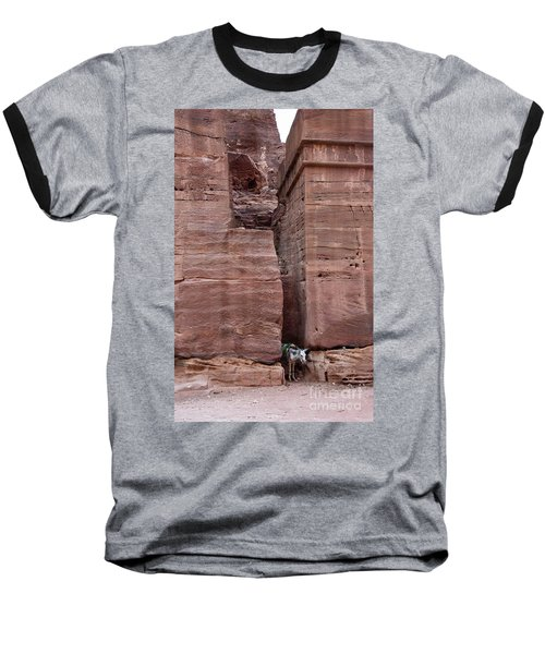 Baseball T-Shirt featuring the photograph Shade Is Good by Mae Wertz