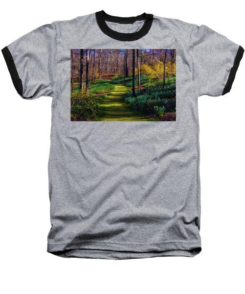Shaded Spring Stroll Baseball T-Shirt