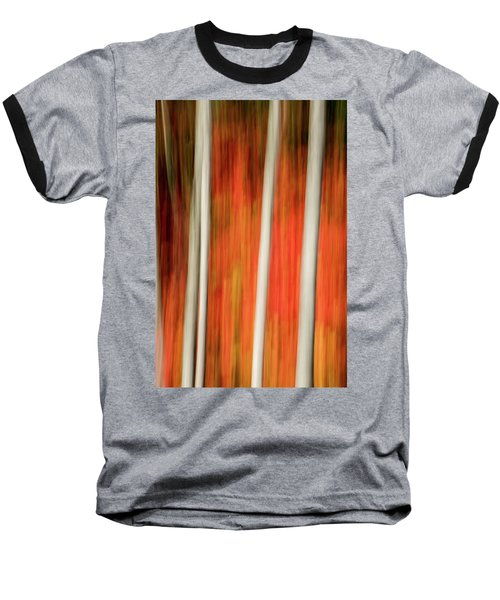 Shades Of Amber And Marmalade  Baseball T-Shirt by Dustin LeFevre