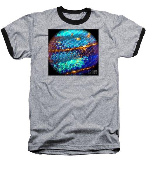 Shades Of Blue Baseball T-Shirt by KD Johnson