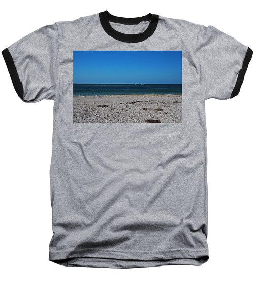 Baseball T-Shirt featuring the photograph Shades Of Blue by Michiale Schneider