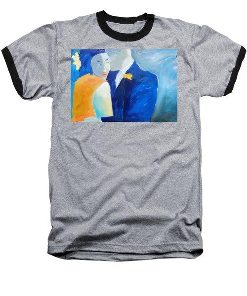 Shades Of Gray Baseball T-Shirt by Gary Coleman
