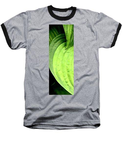 Shades Of Green Baseball T-Shirt by Jerry Sodorff
