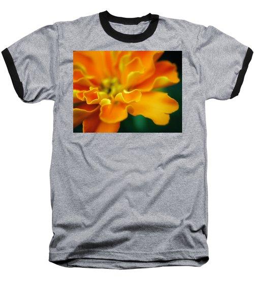 Baseball T-Shirt featuring the photograph Shades Of Orange by Eduard Moldoveanu