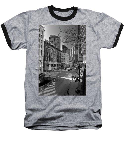 Shades Of The City Baseball T-Shirt