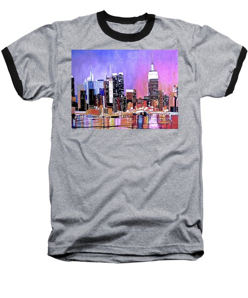 Shades Of Twilight Baseball T-Shirt
