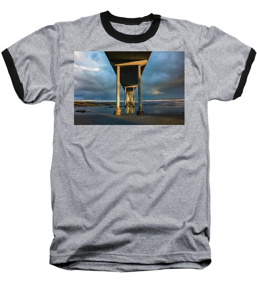 Shadow And Light Baseball T-Shirt by Joseph S Giacalone