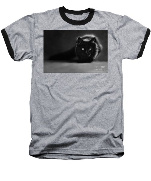 Shadow Cat 2 Baseball T-Shirt