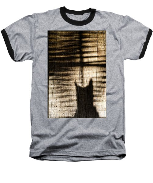 Shadow Cat Baseball T-Shirt