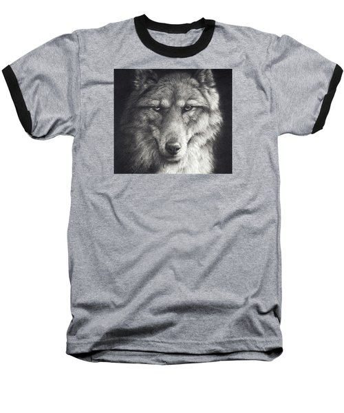 Shadow Falling Baseball T-Shirt