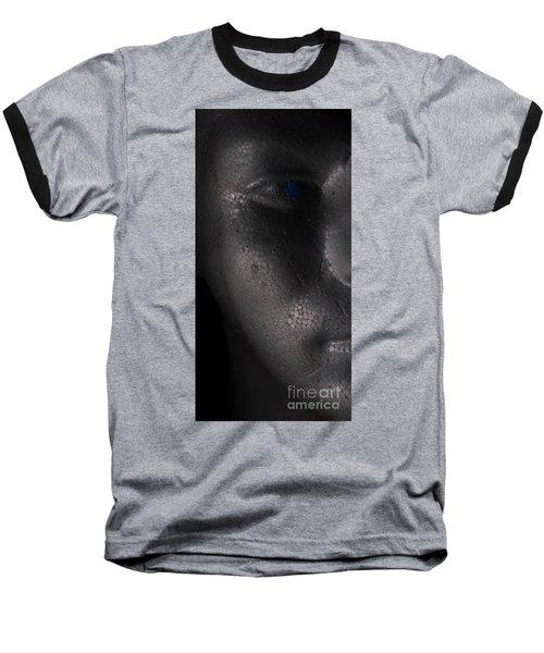 Shadow Man Baseball T-Shirt