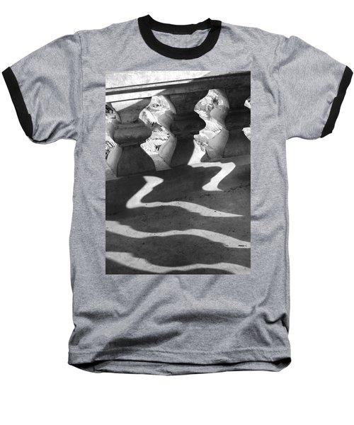 Shadow Of Railing Baseball T-Shirt