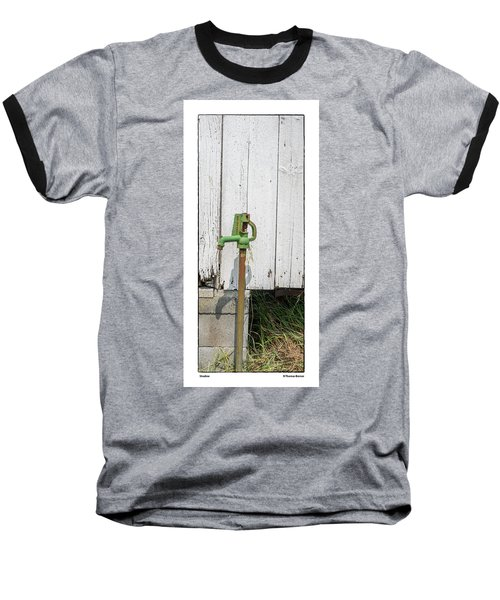 Shadow Baseball T-Shirt by R Thomas Berner