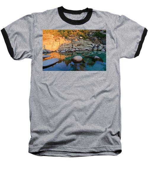 Shadow Selfie Baseball T-Shirt