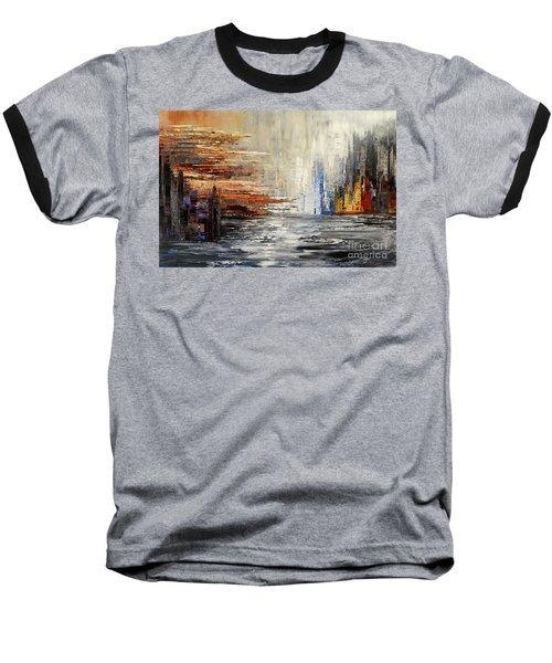 Shadowlands Baseball T-Shirt by Tatiana Iliina