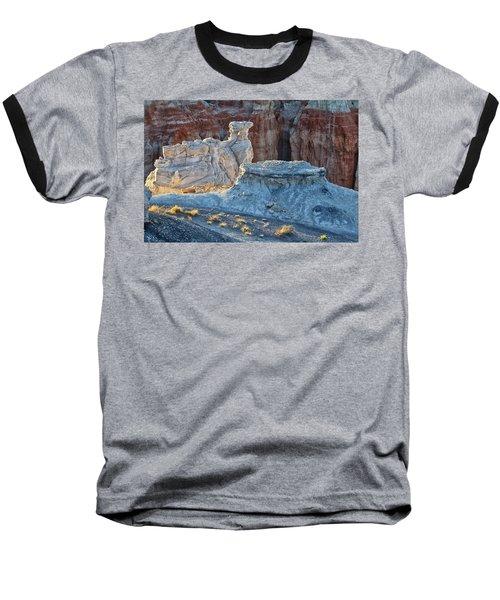 Shadows At Coal Mine Canyon Baseball T-Shirt by Tom Kelly