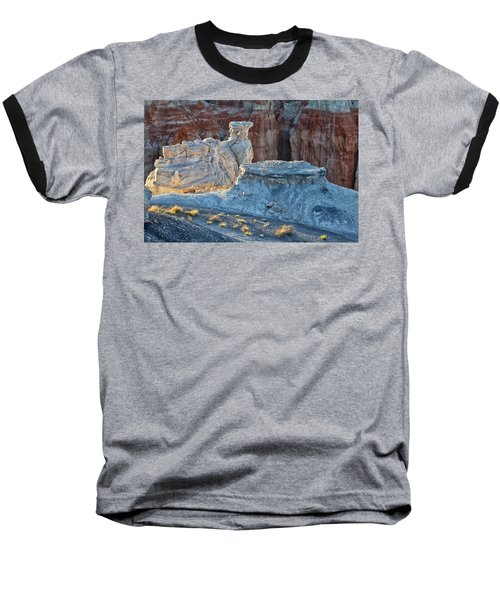 Shadows At Coal Mine Canyon Baseball T-Shirt
