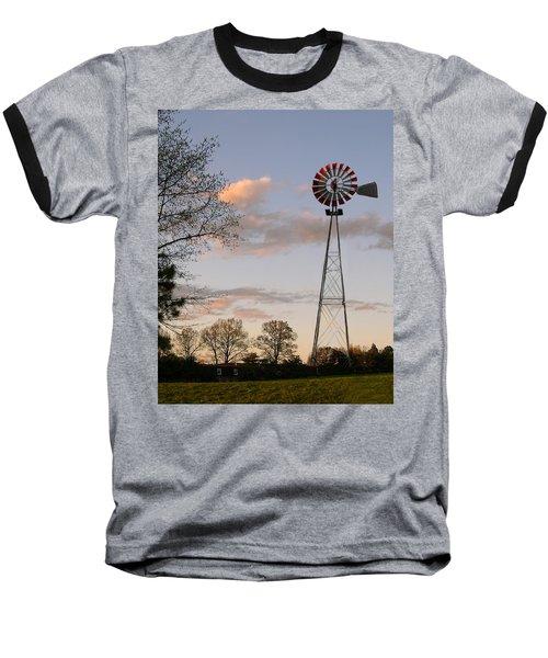 Baseball T-Shirt featuring the photograph Shadows Fall  by Bonnie Willis