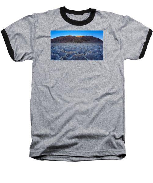 Shadows Fall Over Badwater Baseball T-Shirt