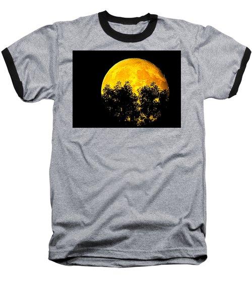 Shadows In The Moon Baseball T-Shirt