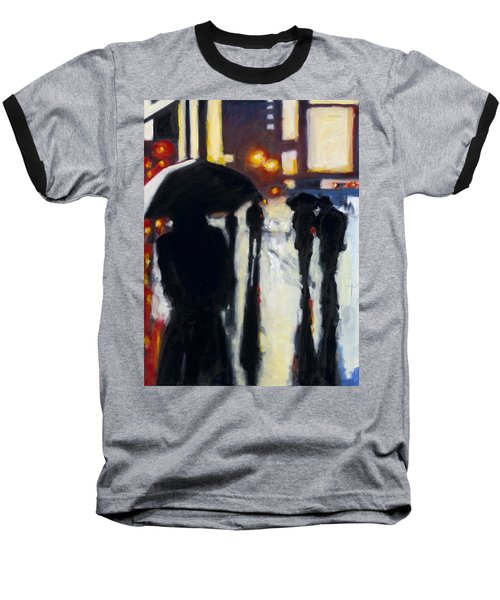 Shadows In The Rain Baseball T-Shirt