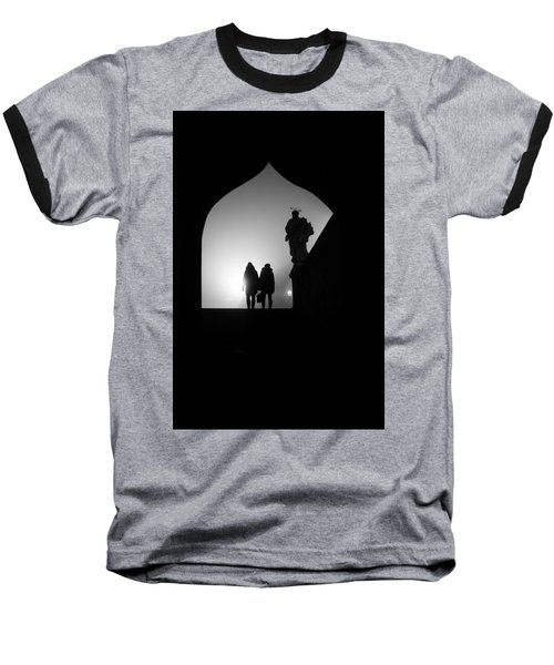 Baseball T-Shirt featuring the photograph Shadows by Jenny Rainbow
