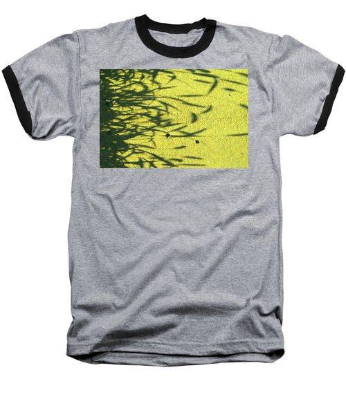 Shadows Baseball T-Shirt by Lenore Senior
